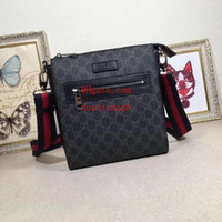Wholesale fashion star handbags for sale - Group buy 2019 brand fashion bagsblack Casual shoulder men s bagr bag genuine leather messenger bag men High quality handbags for men ABC