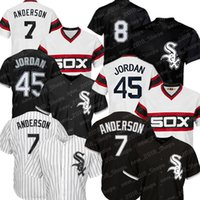 Wholesale tim anderson baseball jersey for sale - Group buy white sox jerseys Tim Anderson CHICAGO bo jackson chicago Carlton Fisk Frank Thomas Todd Frazier Jose Abreu Yoan Moncada