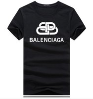 hemd plaid manschetten groihandel-Der Frauen 2020 Luxus-Designer-Kleidung reine Farben-Stulpe Plaidgrenze Design Nagel Mens Designer T Shirts Kurzarm Scoop Neck Golf-T-Shirt