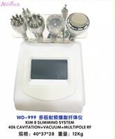 vakum silindirleri toptan satış-Satılık 40 K güçlü vakum silindiri kavitasyon zayıflama makinesi yağ yakma vücut ince Vakum terapi Asansör Firma azaltmak azaltmak sistemi