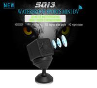 Wholesale micro full hd waterproof camera for sale - Group buy SQ13 wifi mini Camera Full HD P video Sensor Night Vision Camera Micro waterproof Sports DV DVR Motion Camcorder