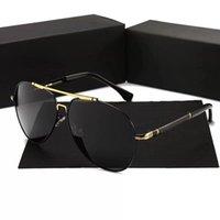 verschreibungsbrillen rahmen großhandel-PORSCHE DESIGN 8755 Luxus Brillen Verschreibungspflichtige Brillen Brillen Vintage Rahmen Herren Modedesigner Brillen Mit Original Etui Retro Design Gold