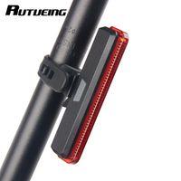трубка велосипедного руля оптовых-Bicycle Tail Light Handlebar Light Red Battery 4 models 60 Lumen Bag  Built-in Battery Cycling Seat Tube