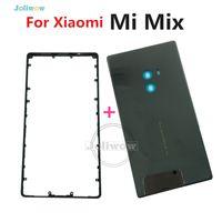 iphone 4s rückseitige abdeckung gehäuse großhandel-Pro Hecktür Gehäuse-Kasten-Ersatzteile für Mi MiX Mittelrahmen + Keramik-Batterie-Abdeckung mischen für Pro