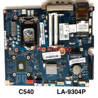 placas base lga1155 al por mayor-VBA01 LA-9304P para placa base de sistema Lenovo C540 90002709 CIH61S LGA1155 placa base 100% probada totalmente funciona