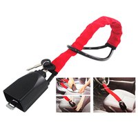 Wholesale car steering locks resale online - Steering Wheel Lock Anti Theft Security System for Car Truck SUV Automotive Auto Car Anti Theft Lock Automotive Tool
