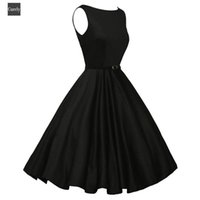 Wholesale pencil prom dresses for sale - Group buy Summer Sexy Dress Women Bodycon Vintage Sleeveless Casual Evening Party Prom Swing Dress Drop Shipping
