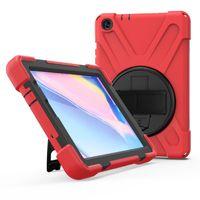 kinder rosa tabletten großhandel-Hybrid Stoß- Rüstung Halter Schulter-Gurt für neue iPad 9.7 2017 Air 2019 MINI5 pro11 2018 Samsung Tab A T590 T595 Amazon Feuer OPP