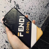 Wholesale genuine leather china for sale - Group buy For New iphone pro max plus PU leather back cover Case for iphone X XR XS MAX drop shipping luxury designer brands