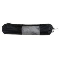 Wholesale yoga mat carry bag for sale - Group buy Portable Yoga Pilates Mat Nylon bag Carrier Mesh Center Adjustable Strap Carry Storage Rolling Type Vaccum Compressed Bags