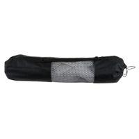 Wholesale carrier types resale online - Portable Yoga Pilates Mat Nylon bag Carrier Mesh Center Adjustable Strap Carry Storage Rolling Type Vaccum Compressed Bags