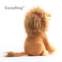 Wholesale lion stuff toy resale online - 10pcs set cm Mufasa Simba Nala The Lion King Plush Toys doll Stuffed Animals Toys Women Kids Birthday Gift