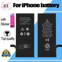Wholesale cycling stickers for sale - Group buy Top Cycle Battery for iPhone S S S plus X Li ion Battery with Sticker
