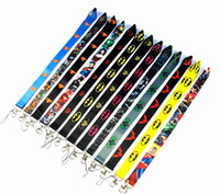 Wholesale cell phone hanging cartoons resale online - Cartoon Cell Phone Lanyard Batman Charms Superman Straps For iPhone plus mobile card set certificate sling Camera hanging rope strap DHL