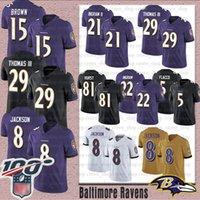 отметить футбол оптовых-Мужчины Балтимор 8 Lamar Джексон Ravens футбола 21 Марк Ingram Л.Л. 15 маркизы Браун 29 Earl Томас Хейден Hurst 9 Джастин Такер