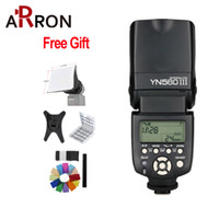 pentax flash de la cámara al por mayor-Speedlight profesional de alta calidad Yongnuo YN-560III Yongnuo YN 560 III para la cámara Pentax