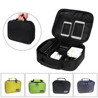 Wholesale usb drive storage cases for sale - Group buy 2019 Newly Travel Digital Gadget Storage Bag USB Cable Drives Plugs Earphone Organizer Case J9