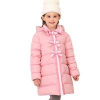 ingrosso principessa ragazza giù cappotto-Piumino da principessa 2019 2019 Little Girl Down Cappotto Decorazione taglia 4 5 6 8 10 anni Piumini per bambini di alta qualità