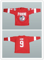 Wholesale make player online – design Custom XS XL Unique Gordie Howe Specially Made Hockey Jersey Stitch Sewn Any Player or Number