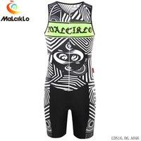 conjuntos de corrida unisex venda por atacado-Pro Cycling Suit Vestuário Unisex Triathlon MTB Jersey Set mangas Sports Jerseys de bicicleta Roupa Homens Trisuit MTB bicicleta Racing Suit