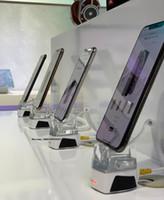 cep telefonu standını tasarla toptan satış-A107 W018 Fonksiyonlu Dikey Tasarım Cep Telefonu Güvenlik Anti Hırsızlık ekran Tutucu alarm güvenlik ekran cep telefonu için standı