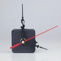 kits de mecanismos de relógio venda por atacado-DIY Relógio de Quartzo Mecanismo de Movimento Preto Relógio Acessórios Mecanismo Do Eixo Com Mão Define Shaft Length 13 360 pçs / lote