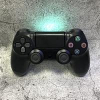 jogo com joystick venda por atacado-Controlador gamepad bluetooth para ps4 gamepad para play station 4 sem fio joystick pc sixaxis controle