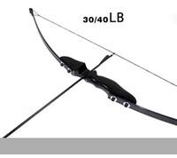ingrosso caccia alla caccia-Nuovo arco ripiegato 30 / 40lbs Arco ricurvo per tiro con l'arco destro Caccia tiro con l'arco Gioco Sport all'aria aperta