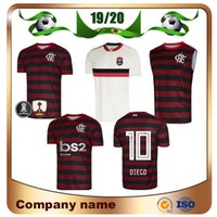 393285f59 Wholesale soccer jerseys online - 19 Flamengo home red black Soccer Jersey  Away GUERRERO DIEGO EDERSON