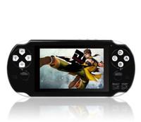 oyun konsolu 16 bit toptan satış-PAP Gameta II El Oyun Konsolları Taşınabilir 64 Bit Retro Video Oyunları 16 GB Dahili Oyuncular Destek TV Çıkışı MP3 MP4 MP5 Kamera