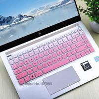 ingrosso tastiera per notebook hp-2017 Nuovo 14 pollici protezione della tastiera del computer portatile della copertura per Hp Pavilion X360 14-baxxxx / X360 serie 14-bfxxxx pelle Notebook T190619