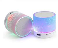 orador portátil azul do bluetooth venda por atacado-Bluetooth Speaker A9 estéreo mini Alto-falantes bluetooth portátil dente azul Subwoofer mp3 player Subwoofer música usb player portátil Partido Speaker