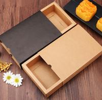 темно-картон оптовых-2019 6 зерен темный цвет кофе /коричневая коробка подарка бумаги Крафт, тип коробка ящика конфеты печенья упаковки, картонные коробки подарка