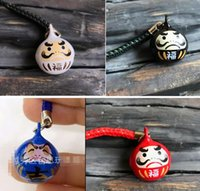 Wholesale japanese cell phone charms resale online - New Cartoon Japanese ani Bells lanyard Cell Phone Strap Charms Keychains Key Ring DIY Jewelry Making Accessories T01
