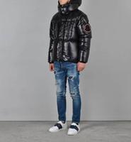 männer pelz heiß großhandel-Heißer verkauf Kanada Warme Manteau Pelz Mit Kapuze Dicke Winter Männer Gans Daunenjacke für Kanada Männlichen Chaquetas Mantel Mann Outwear Parka 02-300