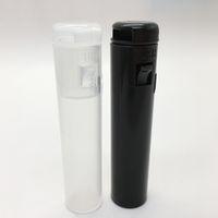 Wholesale custom tube resale online - Cartridges Packaging Tube thread VAPE PEN Preroll Packing Plastic Tube Custom stickers vapes carts E Cigarettes Empty vaporizer