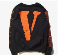 sudadera con capucha vlone al por mayor-envío libre de los hombres VLONE alta calidad / Kanye West Hip Hop de las mujeres jóvenes treetwear la camiseta de los amantes de Justin Bieber jerséis con capucha Patinetas