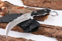 Wholesale training karambit for sale - Group buy LW crest claw karambit claw knife folding training knife hunting outdoor survival knife Adru