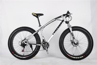 Wholesale kids bmx bike resale online - Brand New Speed Mountain Bike inch inch Fat Tire Bikes Shock Absorbers Bicycle Free Delivery Snow Bike