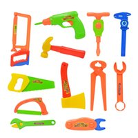 Wholesale kids tool set wood for sale - Group buy Children s Toolbox Set Real life Repair Tool Drill Screwdriver Repair Kit House play Toys Tool Set Puzzle Toy Set for kids Gift