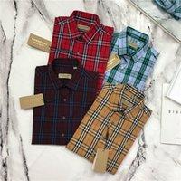 nefes alabilen uzun kollu gömlekler toptan satış-19ss BBR Paris Bluz eğlence Tee gömlek Nefes uzun Kollu Tshirt Erkek Kadın bluzlar Casual Açık Streetwear Tişörtleri