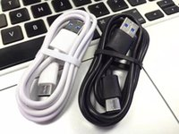 Wholesale white micro charge cable online – Type c Usb c Micro pin cable m ft white black usb data sync charging cables for samsung s4 s6 s7 edge s8 s9 htc android phone
