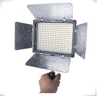 cámara shiping libre al por mayor-Shiping libre YN300II YN-300 II Led Video Light para Rebelde T3 XS T5i T4i T3i T2i T1i XSi XTi XT Videocámara con cámara + Control remoto IR
