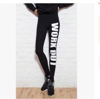 Wholesale work out clothing for women for sale - Work Out Women Sport Leggings Love Fitness Clothing For Women GYM Slim Fit Pants Female Jeggings For Yuga Training