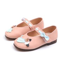 Wholesale little princess shoes resale online - Autumn New Childrens Kids Shoes Girls soft bottom Cartoon Princess Shoes Little Baby Girls Years Old Kids