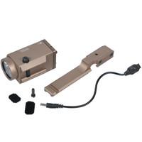 ingrosso ak 74-AK SD 47 74 Tactical Gun Light AK-SD TWPS Arma LED Torcia elettrica Fit 20mm Picatinny Rail Momentary Strobe Output