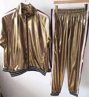 zipper das calças dos homens venda por atacado-19ss anos Medusa sportswear dos homens zíper completo dos homens terno dos esportes dos homens conjunto de moletom e calças Medusa sportswear