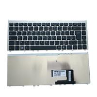 teclado pcg venda por atacado-Teclado do portátil para Sony Vaio VGN-FW VGN FG PCG-3B2L PCG-3B3L PCG-3B4L PCG-3D3L Preto com Moldura de Prata Francês Ori Novo