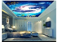 ingrosso murali subacquei per-Foto 3D personalizzata zenith wallpaper murale interior decoration 3D HD Dream Underwater World Zenith soffitto sfondo carta da parati murale