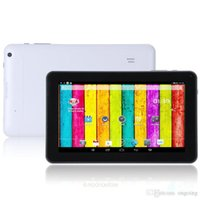 Wholesale Quad Core inch A33 Tablet PC with Bluetooth flash GB RAM GB ROM Allwinner A33 Andriod Ghz DHL